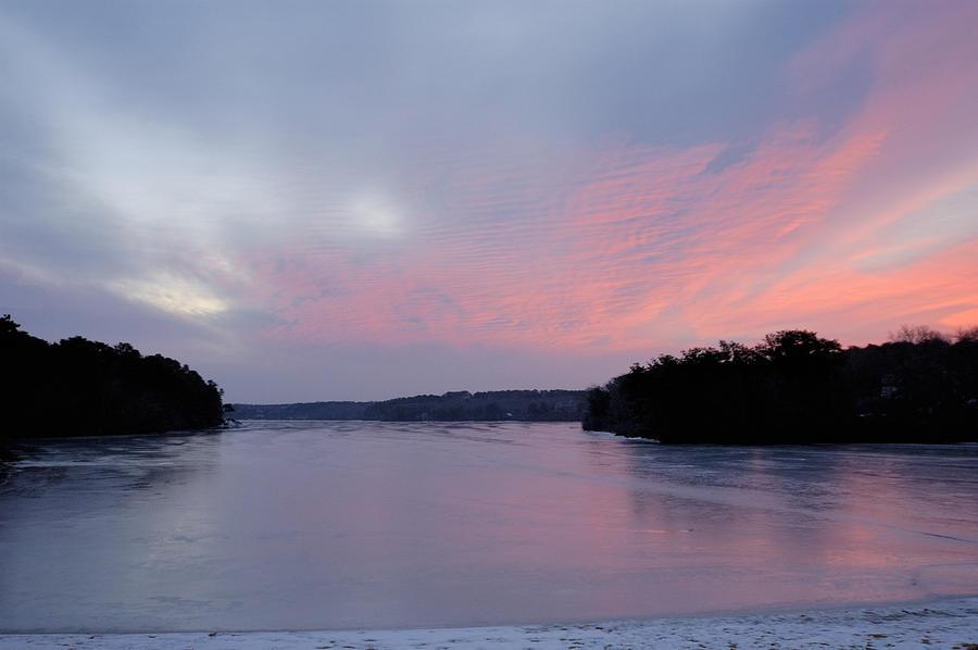 Landscape Photograph - Frozen Sunrise by Mimi Katz