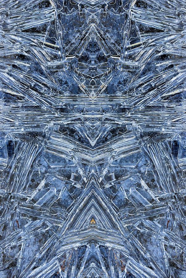 Frozen Photograph - Frozen Symmetry by David Gn