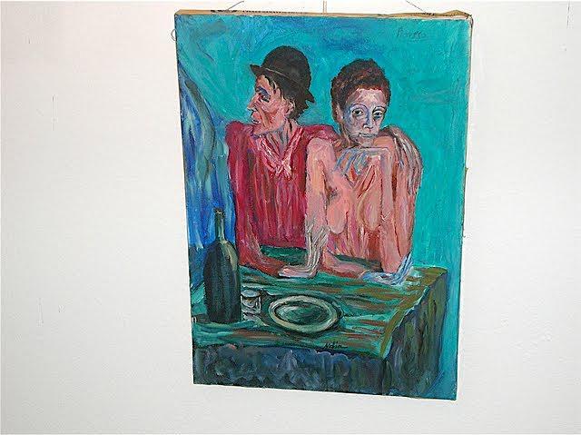People Painting - Frugual Repast by Metin Yasarturk