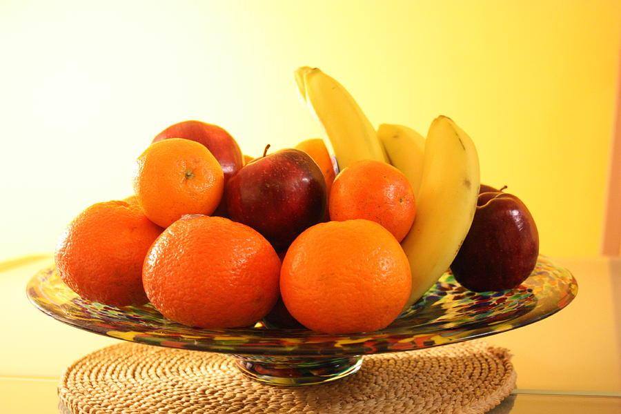 Fruit Arrangement Photograph by Inez Oliveira