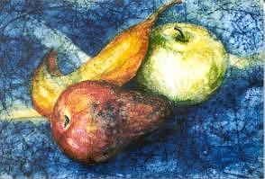 Fruit Painting - Fruit by Katina Johnson