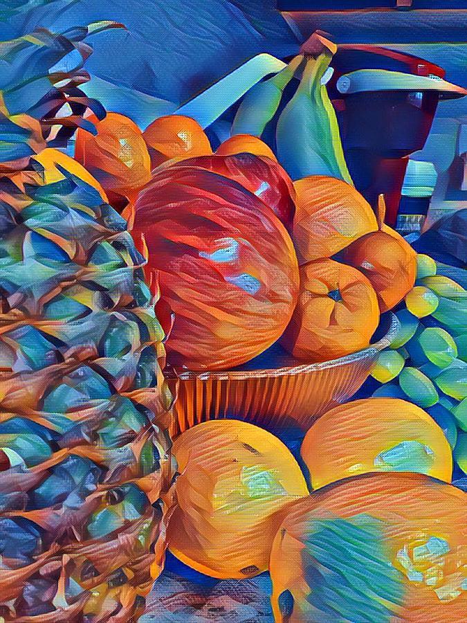 Fruit Digital Art - Fruit of Life by Art By Naturallic