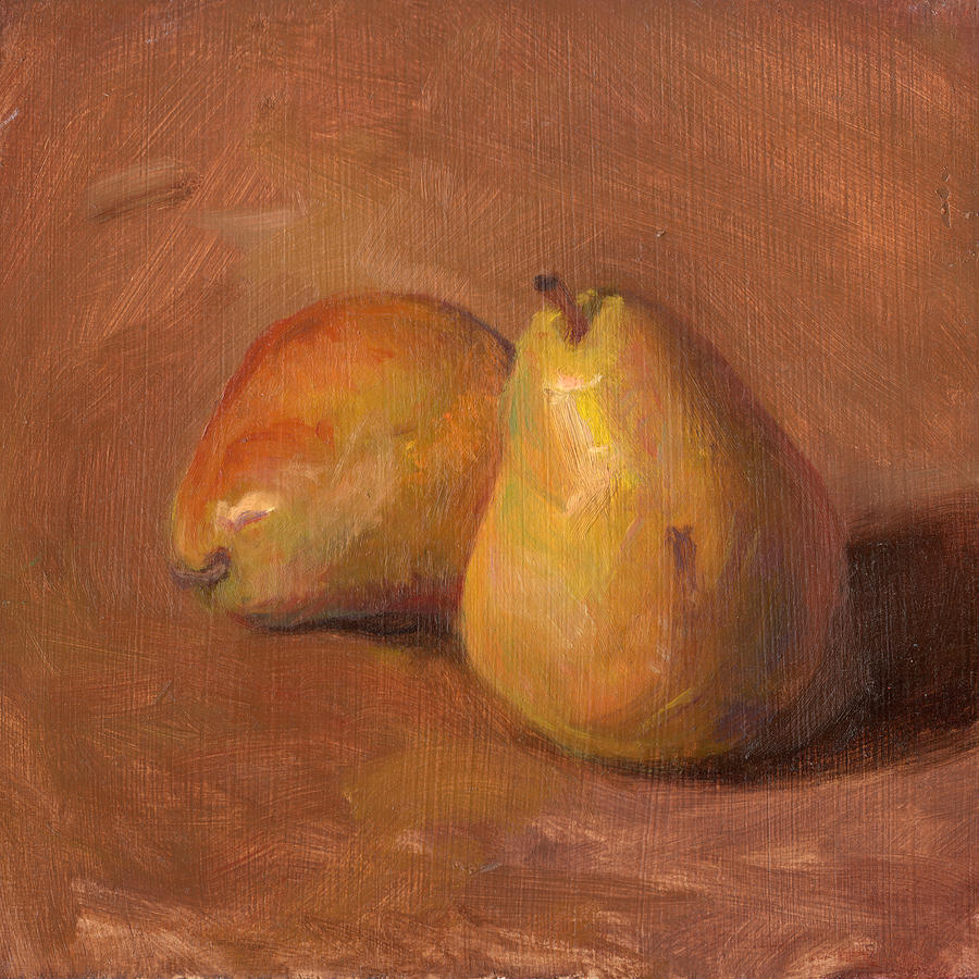 Fruit Painting - Fruit Of The Spirit- Pear 1 by Timothy Chambers