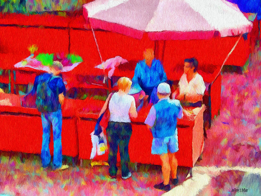 Fruit Painting - Fruit Of The Vendor by Jeff Kolker