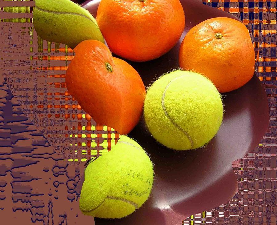 Fruits Photograph - Fruit Plate by Evguenia Men