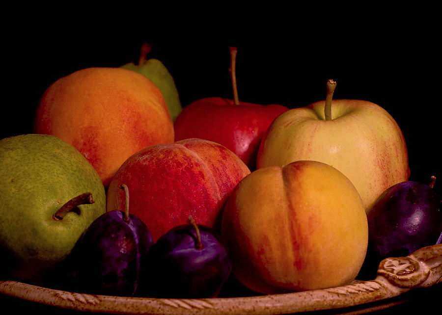 Fruit Photograph - Fruit Still Life by Marion McCristall