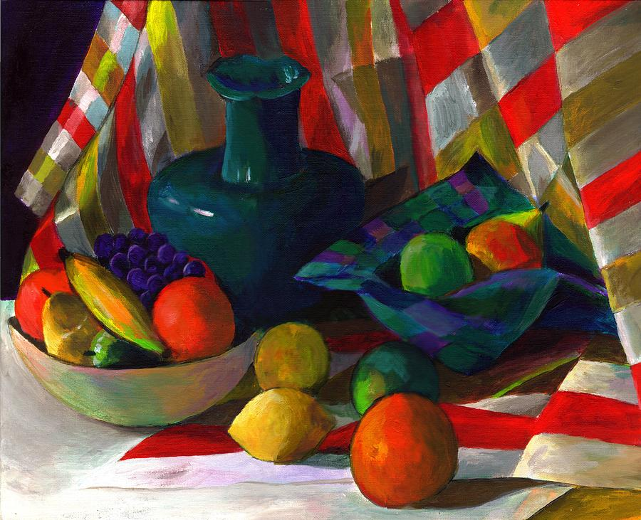 Still Painting - Fruit Still Life by Peter Shor
