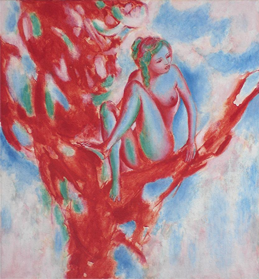 Nude Painting - Fruit Tree by Michael  Price