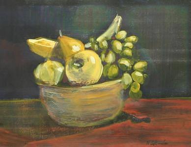 Fruit Painting - Fruitbowl - Sold by Neil Blender