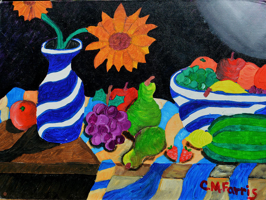 Fruitful Still Life by Christopher M Farris