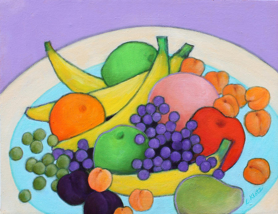 Still Life Painting - Fruitilicious by Lorraine Klotz