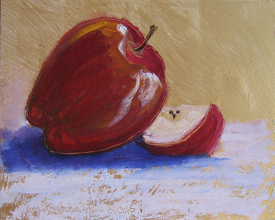 Apple Painting - Fruits And Veggies No. 2 by Wynn Creasy