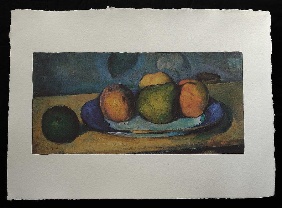 Cezanne Painting - Fruits  by Cezanne Paul