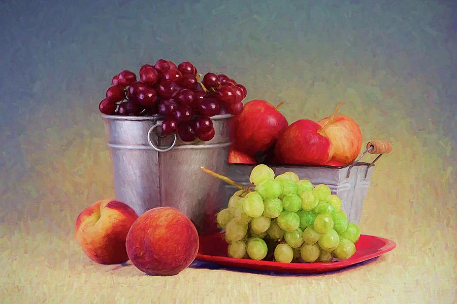 Fruit Photograph - Fruits On Centerstage by Tom Mc Nemar