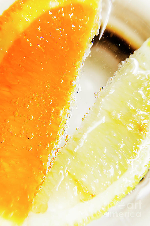 Slice Photograph - Fruity Drinks Macro by Jorgo Photography - Wall Art Gallery