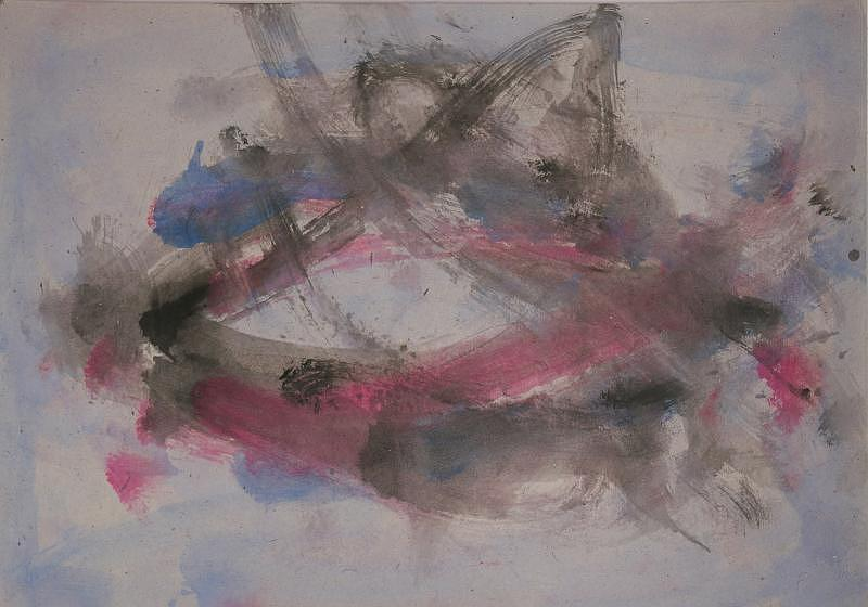 Abstract Painting - Frustration 1 by Alice Banciu