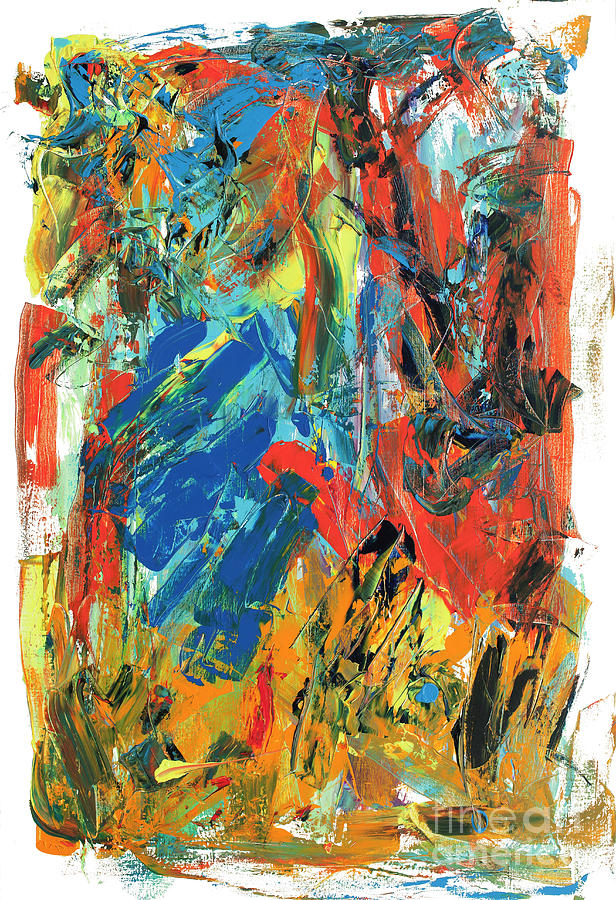 Frustration Painting - Frustrations by Bjorn Sjogren