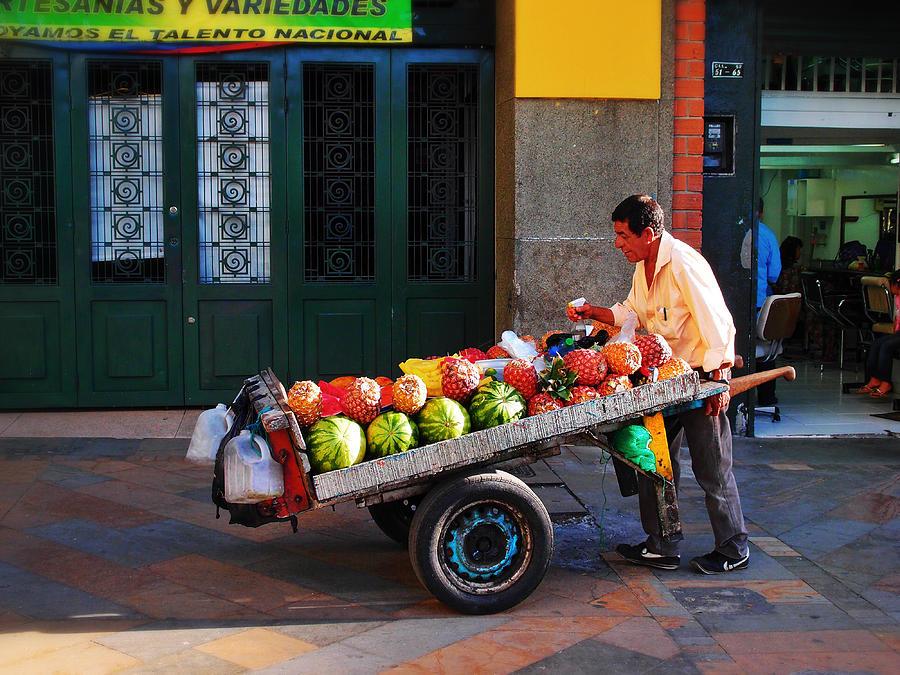 Medellin Photograph - Fruta Limpia by Skip Hunt