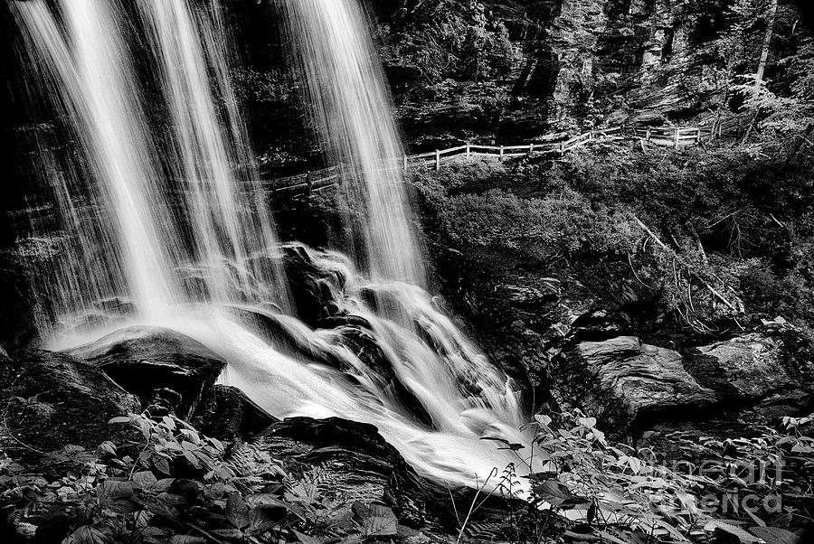 Water Photograph - Fry Falls Overlook by Paul W Faust - Impressions of Light