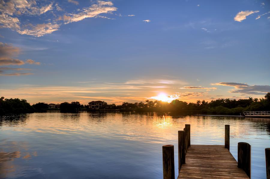 Ft. Hamer Sunset 06 Photograph by Jonathan Sabin