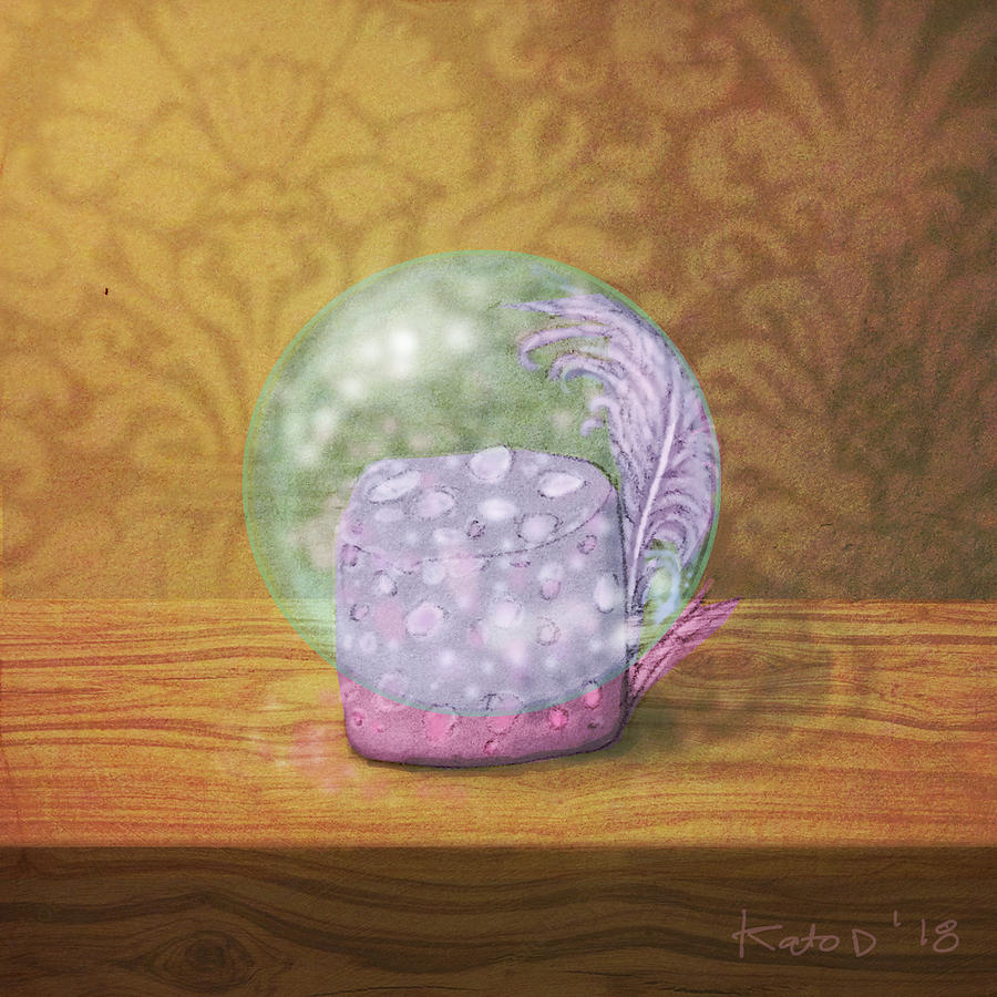 Marshmallow Digital Art - Ftf In A Bubble by Kato D