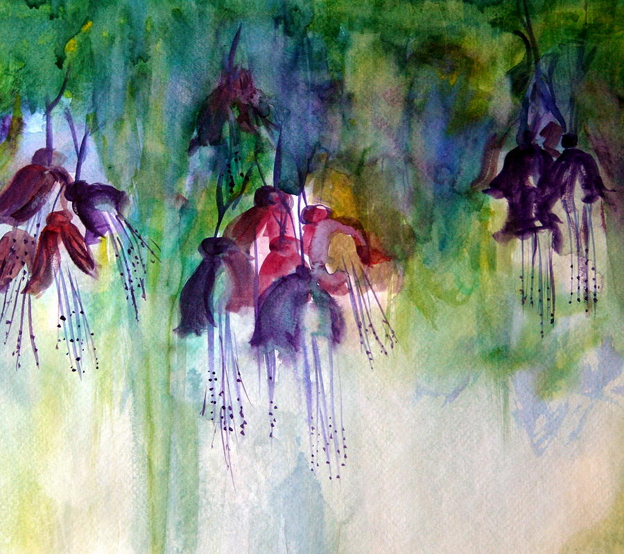 Fuchsia Fussy by Julie Lueders