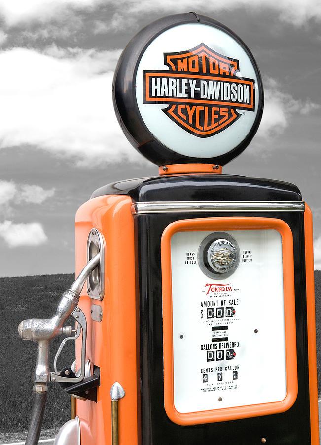 Gas Pump Photograph - Fuel by Elizabeth Reynders