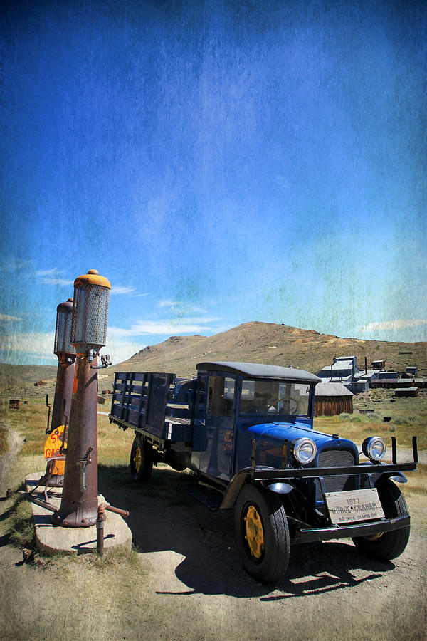 Bodie Photograph - Fuelin Up by Laurie Search