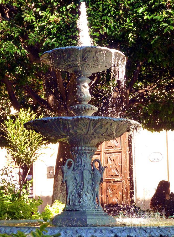 Fuente En Jardin De La Union, Guanajuato, Guanajuato Photograph