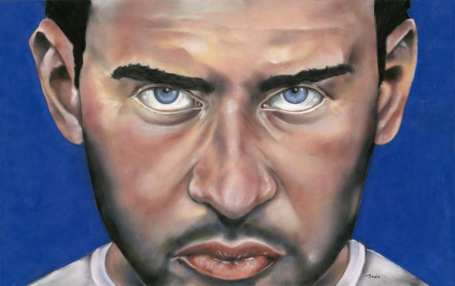 Portrait Pastel - Fugitive by Greg Stair