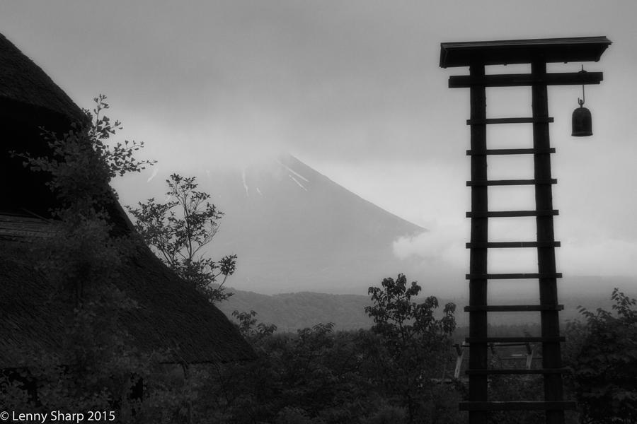 Japan Photograph - Fuji Bell by Leonard Sharp