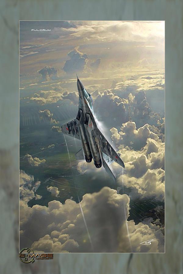 War Digital Art - Fulcrum by Peter Van Stigt