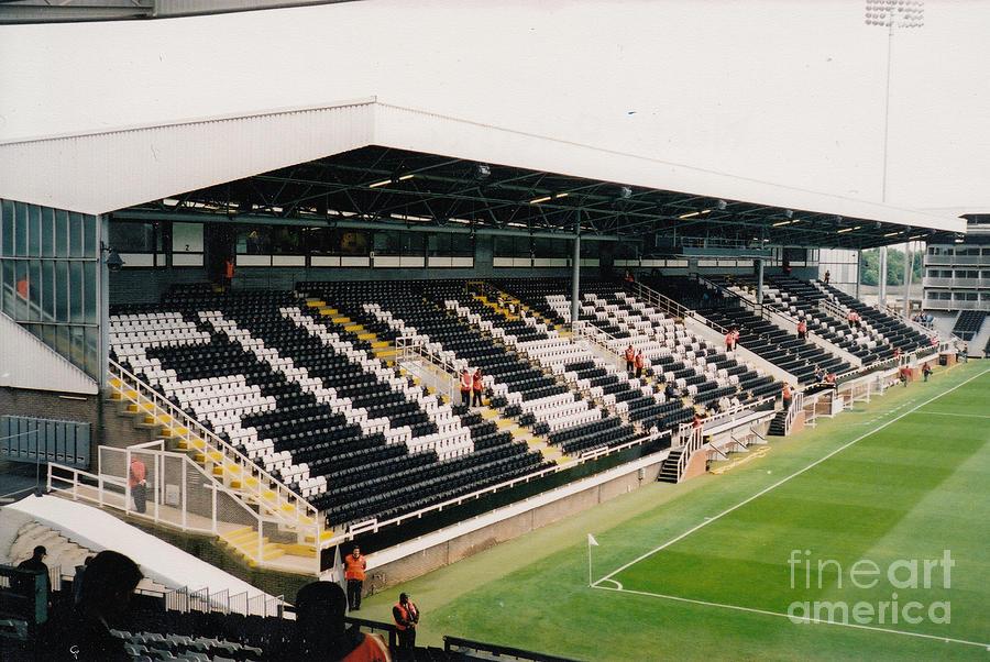Fulham Craven Cottage Riverside Stand 5 July 2004