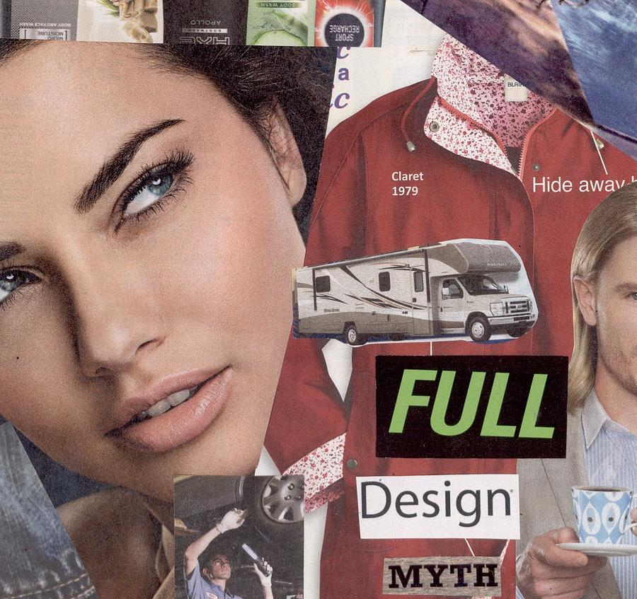 Collage Mixed Media - Full Design Myth by Chaperone Picks