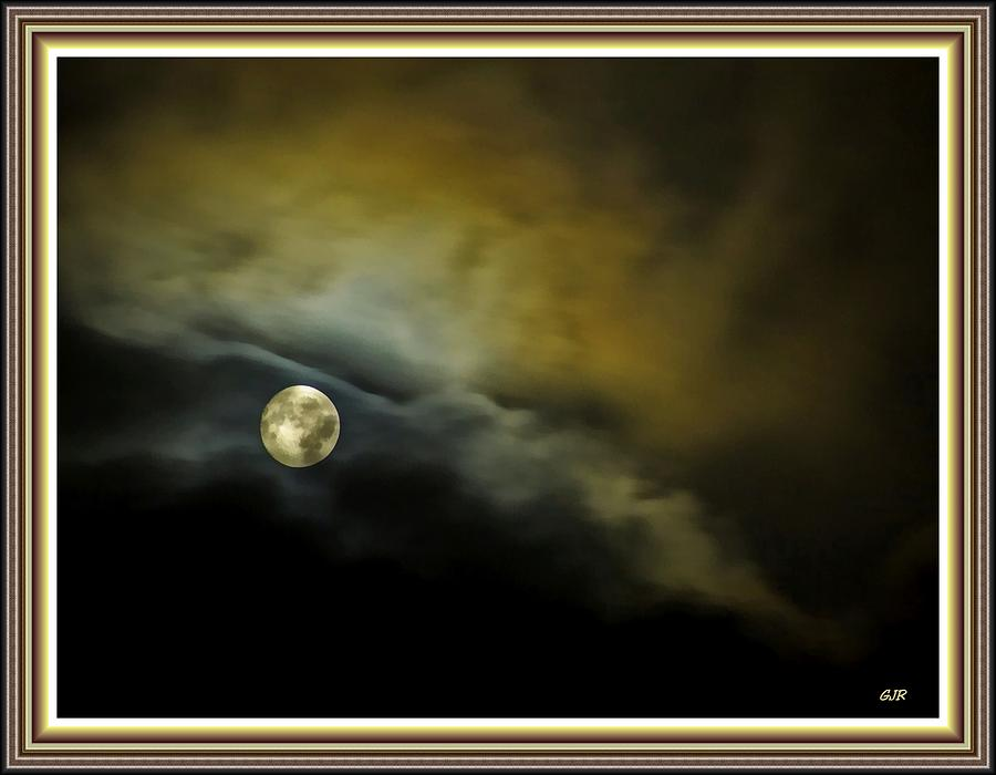 Full Moon Fantasy L B With Alt. Decorative Ornate Printed Frame ...