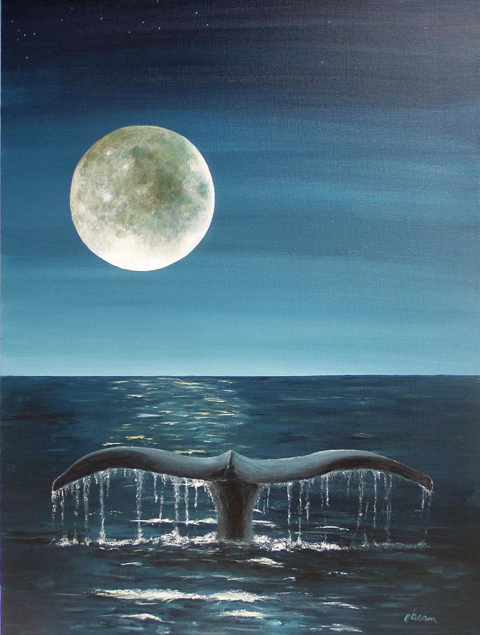 Full Moon Fluke by Patti Bean