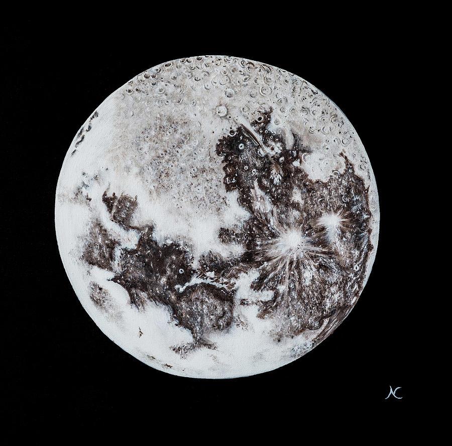 Full Moon by Neslihan Ergul Colley