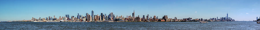 New York City Photograph - Full On New Yourk by James Heckt