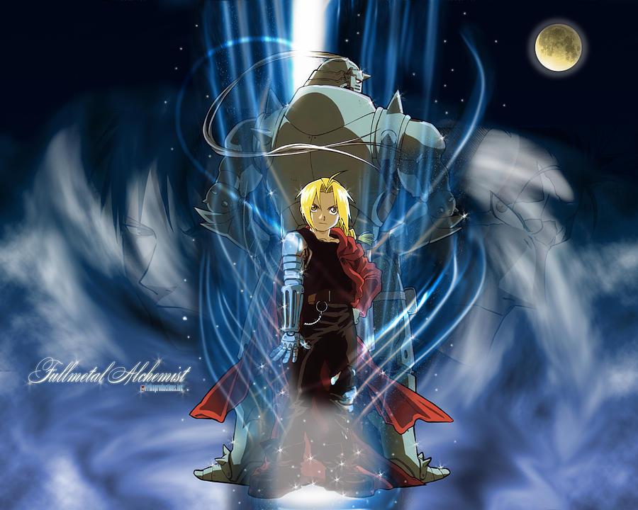 Fullmetal Alchemist Digital Art - Fullmetal Alchemist by Dorothy Binder