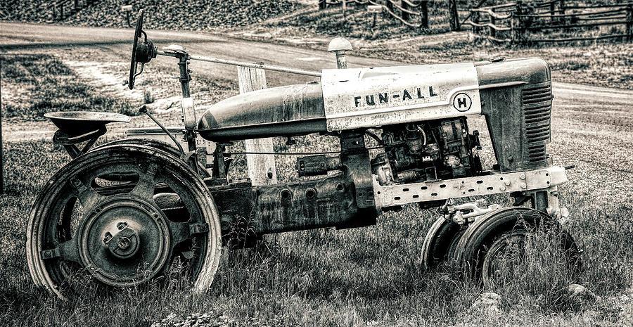 Tractor Photograph - Fun-all by Kristen Wilcox