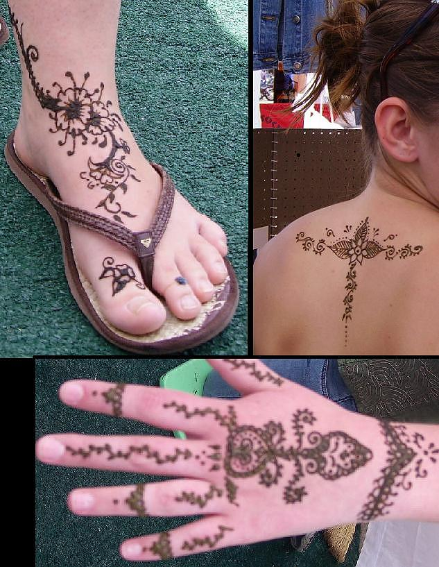 Henna Tattoos Painting - Fun At The Ogden Farmers Market by Henna Tattoos Ogden Utah