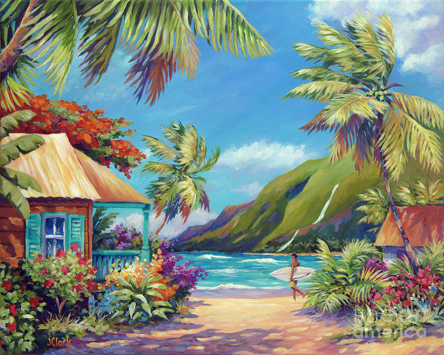 Fun Day Ahead Painting By John Clark