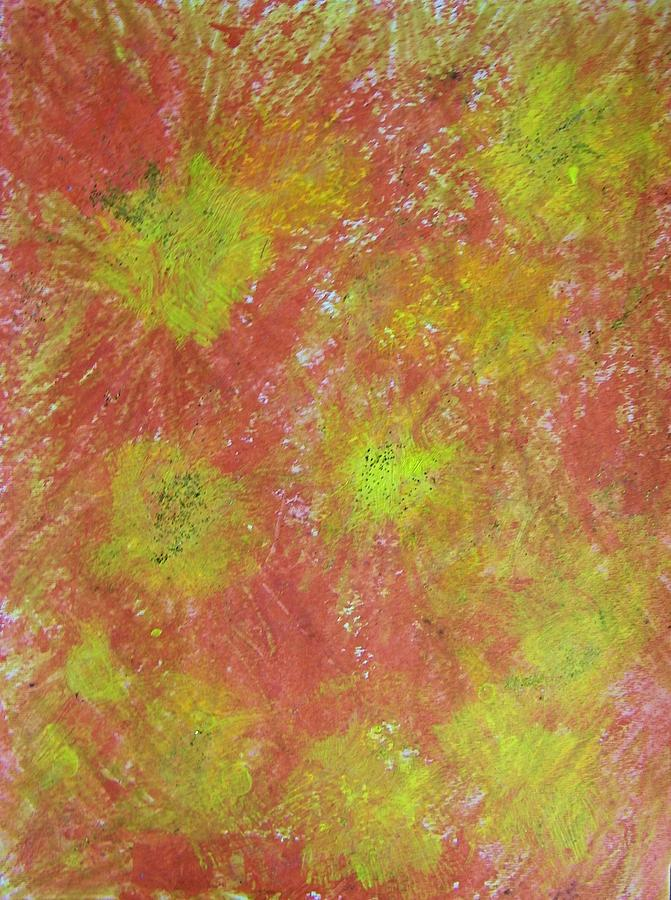 Abstract Painting - Fun On The Fourth by Judith Redman