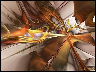 Fractal Digital Art - Function by David Works