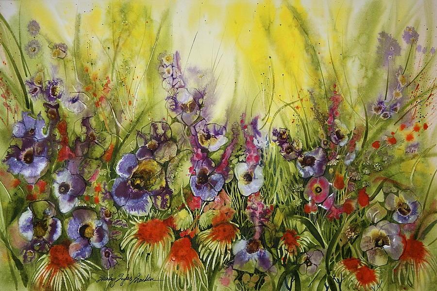 Funiary Flowers Painting