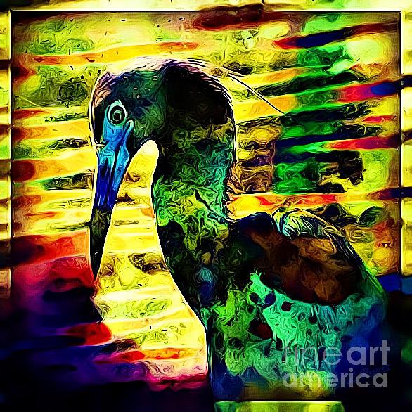 Funky Bird by Leslie Revels
