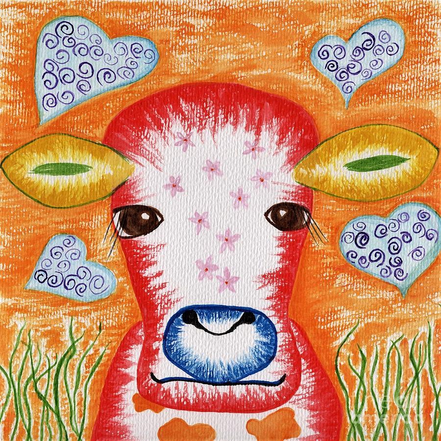 Funky Cow by Anne Clark