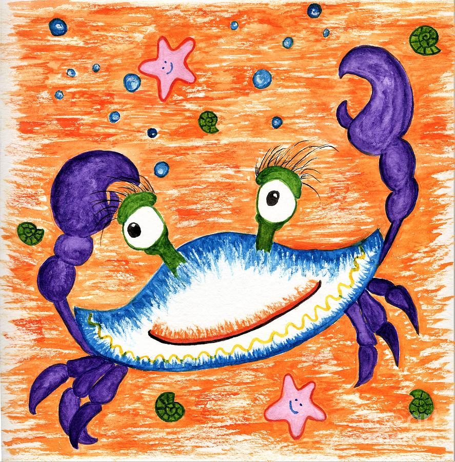 Funky Crab by Anne Clark