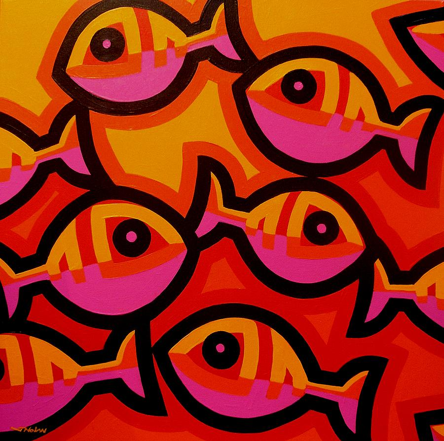 Colorful Fish Paintings | Fine Art America