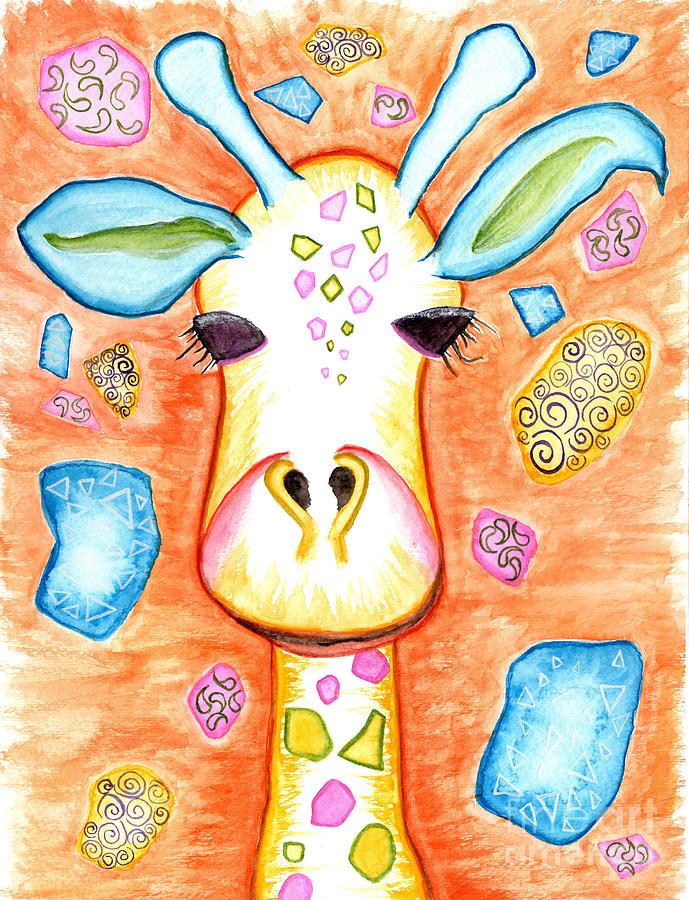 Funky Giraffe  by Anne Clark